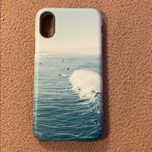 Screenflair Surfs Up- IPhone Xs / Matte Case